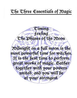 Three Essentials Of Magic (Correct Version)