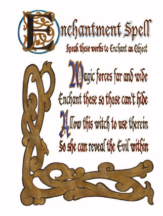Enchantment Spell by Jamie (Handwritten)