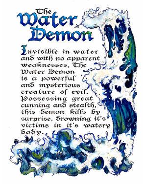 Water Demon (from Dan H)