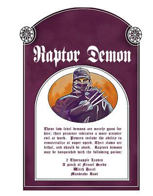 Raptor Demon (DVD version)
