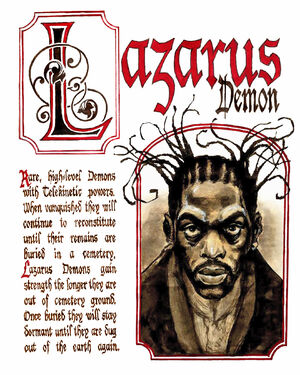 Lazurus Demon by Dan H on WHITE