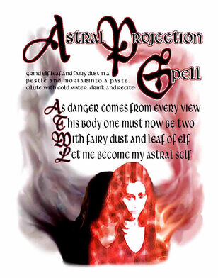 Astral Projection Spell (Prue Version)