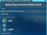 Daily Training: Fort Pinta Scenic Circuit