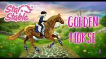 Buying the new GOLDEN HORSE on Star Stable! NO GAME FILES