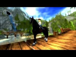 Star Stable World - Friesian Sport Horse