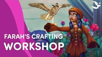 Farah's Crafting Workshop 🌿🌻 Star Stable Trailer