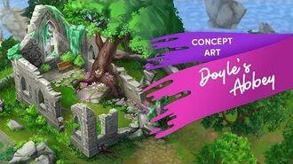 Doyle's Abbey Concept Art Time-Lapse