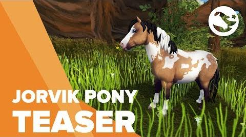 Jorvik Pony - Star Stable Teasers