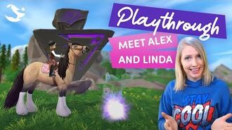 PLAYTHROUGH - Meet Alex and Linda!⚡🌙