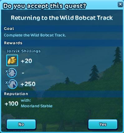 WildBobcatTrack