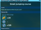 Small Jumping Course