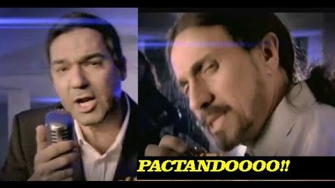 PACTANDO - Pablo Iglesias ft Pedro Sánchez (especial nochevieja 2014 José Mota)
