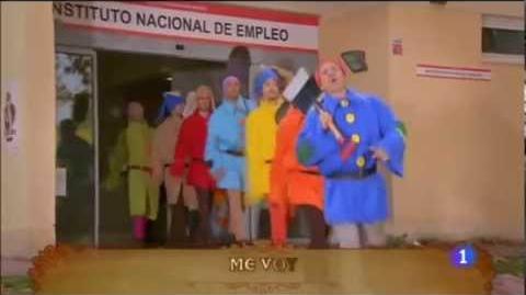 """Jose Mota parodia canción de los enanitos """"Currar, currar"""""""