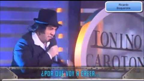 Ricardo Boquerone-Tonino Carotone Me cago en el amor JoseMota
