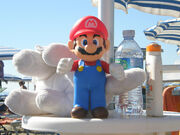 Super Mario at the beach