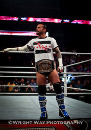 WWE Champ @CMPunk