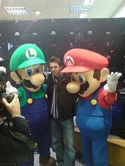Mario, Luigi & the unknown man