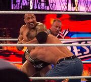 WWE Wrestlemania - The Rock vs John Cena