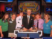 My Mom just fwd'ed me this long-lost Family Feud photo (Hello Crowley Family Christmas card!) ps- official air date is Wednesday March 4, 2009. Put it in yer iCal!