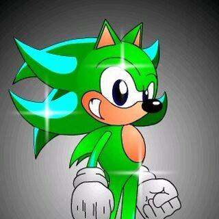 Josh the Hedgehog in Sonic Character Designer.
