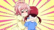 Misaki hug