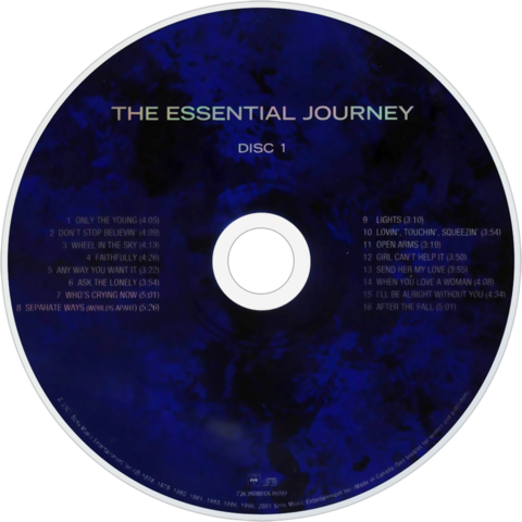 File:The Essential Journey Disc 1.png