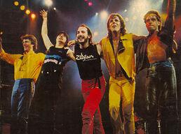 Journey 1983 Frontiers Tour