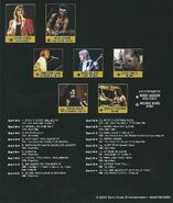 Greatest Hits DVD Back