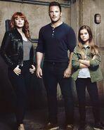 Owen, Claire and Maisie