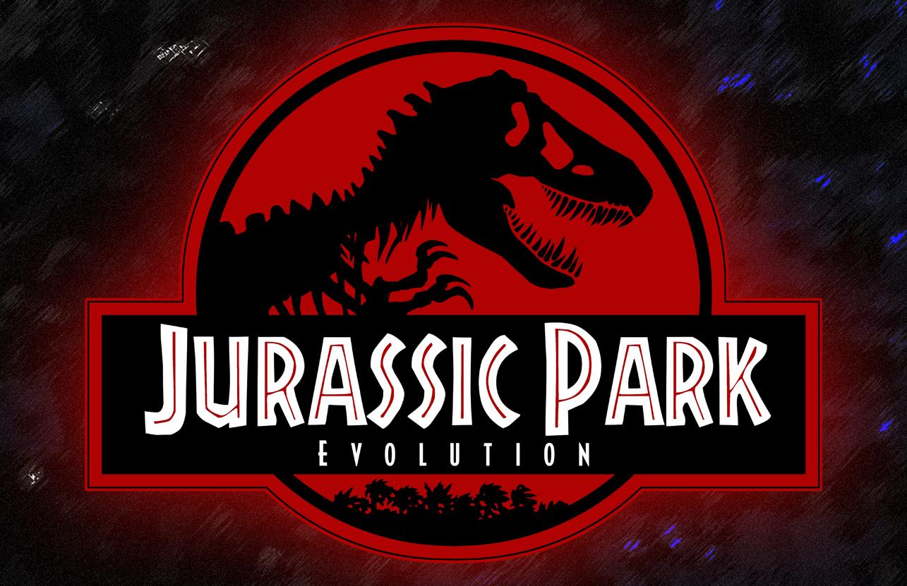 Jurassic World Trio Logo Badge Boys Graphic T Shirt