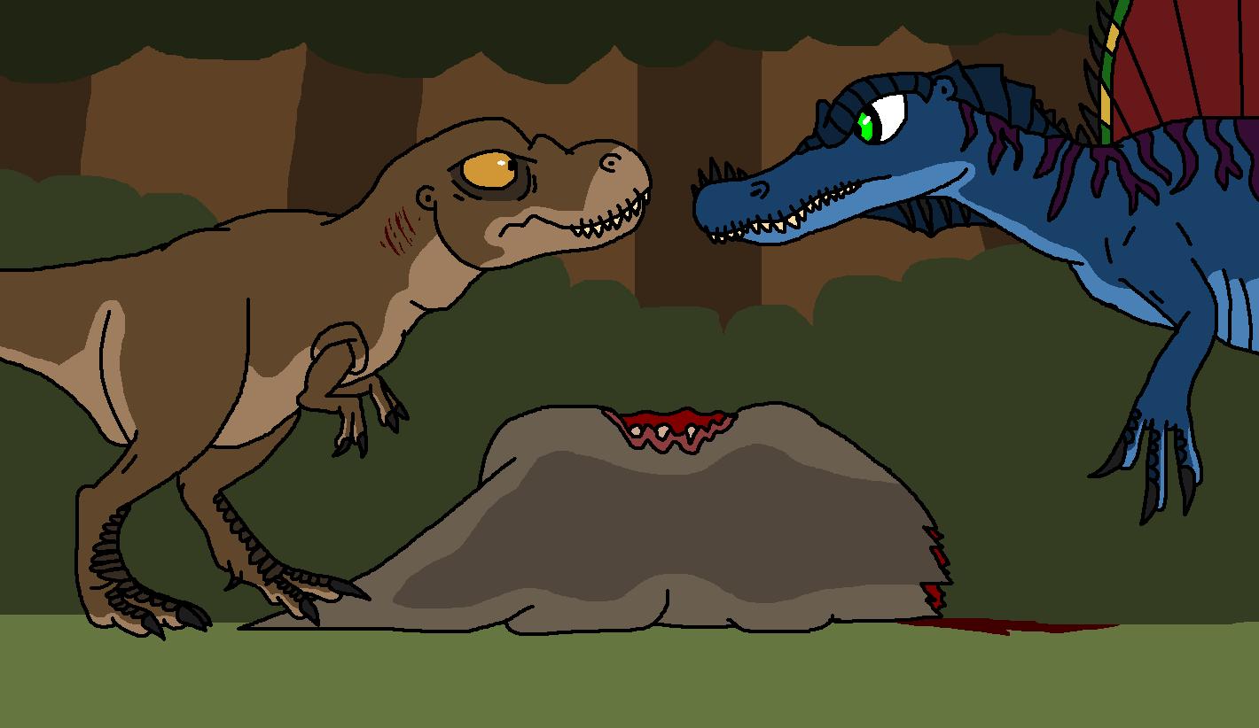 Jurassic Park VII:No more Humans on Isla Tyrannus ...