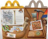 DAK dinoland mcdonalds box 2