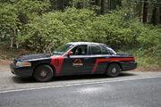 Jurassic Park Police Car