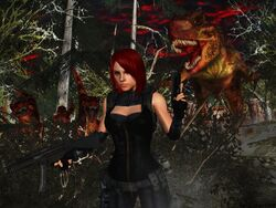 Dino crisis wallpaper by ethaclane-d4869om