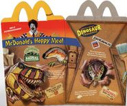 DAK dinoland mcdonalds box 1
