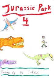 Jurassic Park 4 cover