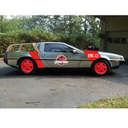 Jurassic Park DeLorean