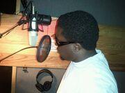 J-Pimp at Boca Bob Recording Studio