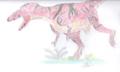 Leto herrerasaurus ishigualastensis by jplnima-d5218j4
