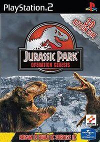 Jurassic Park Operation Genesis Cover