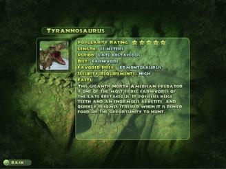 Tyrannosaurus Dinopedia