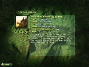 Stegosaurus Dinopedia