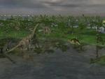 Jurassic Herbivore Paddock
