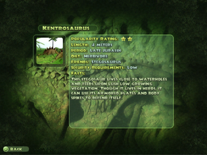 Kentrosaurus Dinopedia