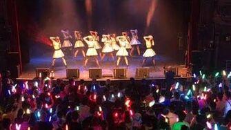 【Amaitsuki】Angerme's first live in PARIS - Opening act at LA CIGALE【踊って歌ってみた】