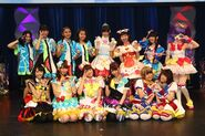 Cosplay PriPara characters for Summer Live
