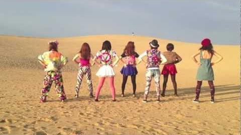Especia「きらめきシーサイド」鳥取砂丘で踊ってみた