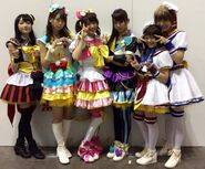 Cosplay PriPara characters for Chao Fes