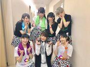 I☆Ris 3rd Live Tour ~Fan+6=∞~ (May 2017), with Takaoyuki