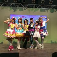 Cosplay Pri Para characters for Kodomo Stage